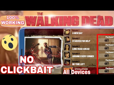 How to download the walking dead season 1 full game all episode unlock | all devices on your android