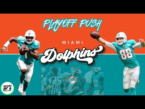 The miami dolphins will make a playoff push