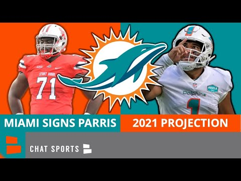 Miami dolphins news on signing timon parris - will he make the 53-man? 2021 dolphins predictions