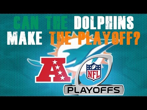 How the miami dolphins can make the playoffs!