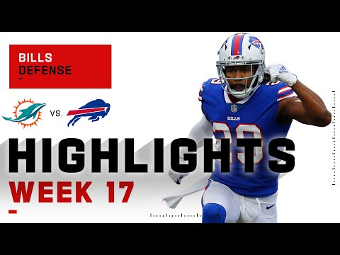 Bills defense forces 4 turnovers vs. miami | nfl 2020 highlights