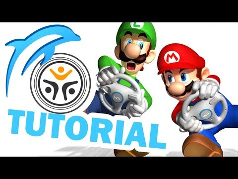[outdated / read description] how to install mkwii w/ wiimmfi for dolphin emulator (pc)