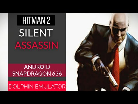 Hitman 2 silent assassin dolphin mmj android gameplay (2x res hd) best settings (low end devices)